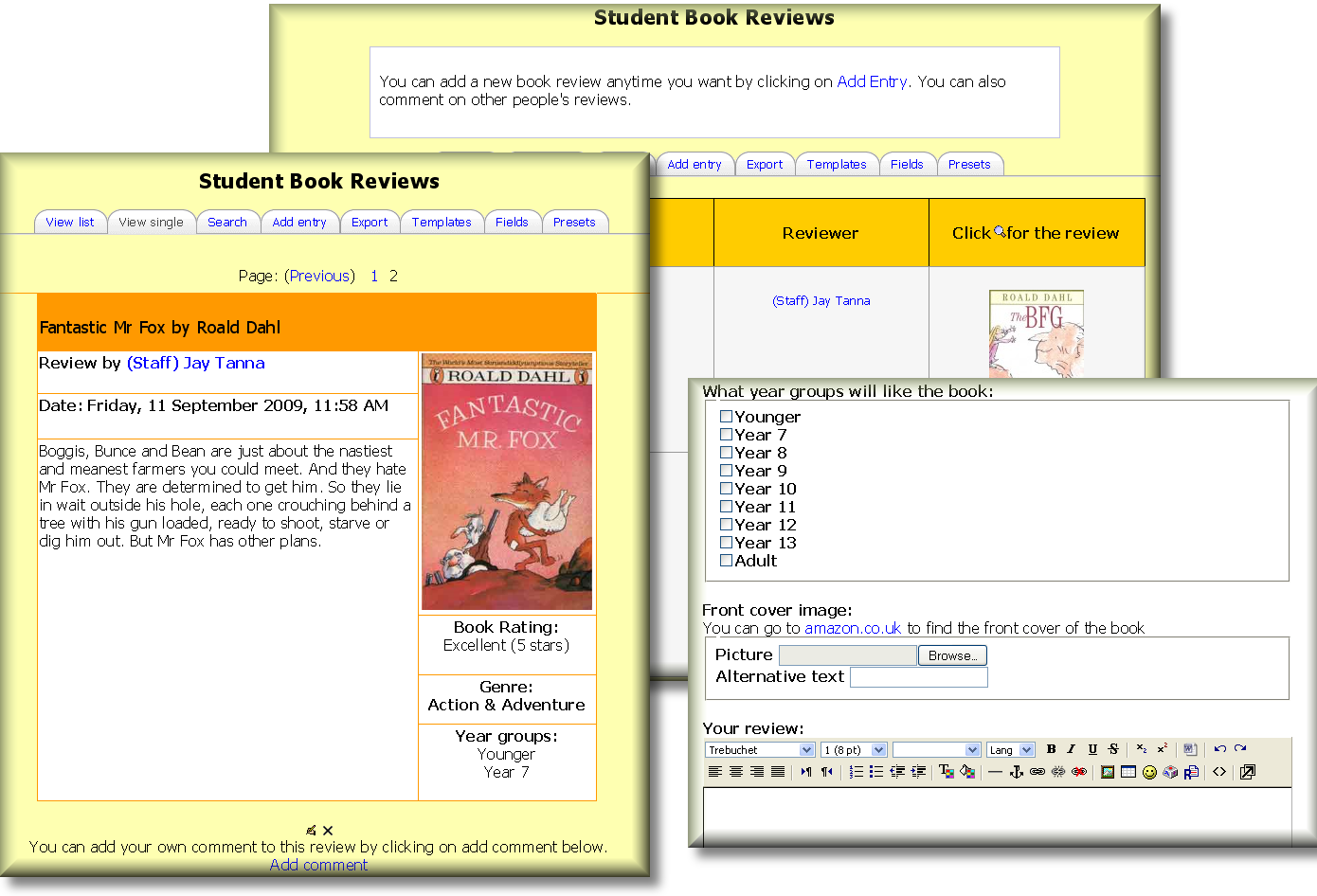 Student_Book_Reviews