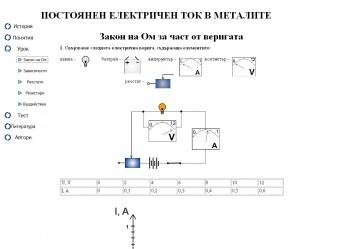 Постоянен електричен ток в металите